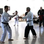 Sensei Toban teaching Adult Classes